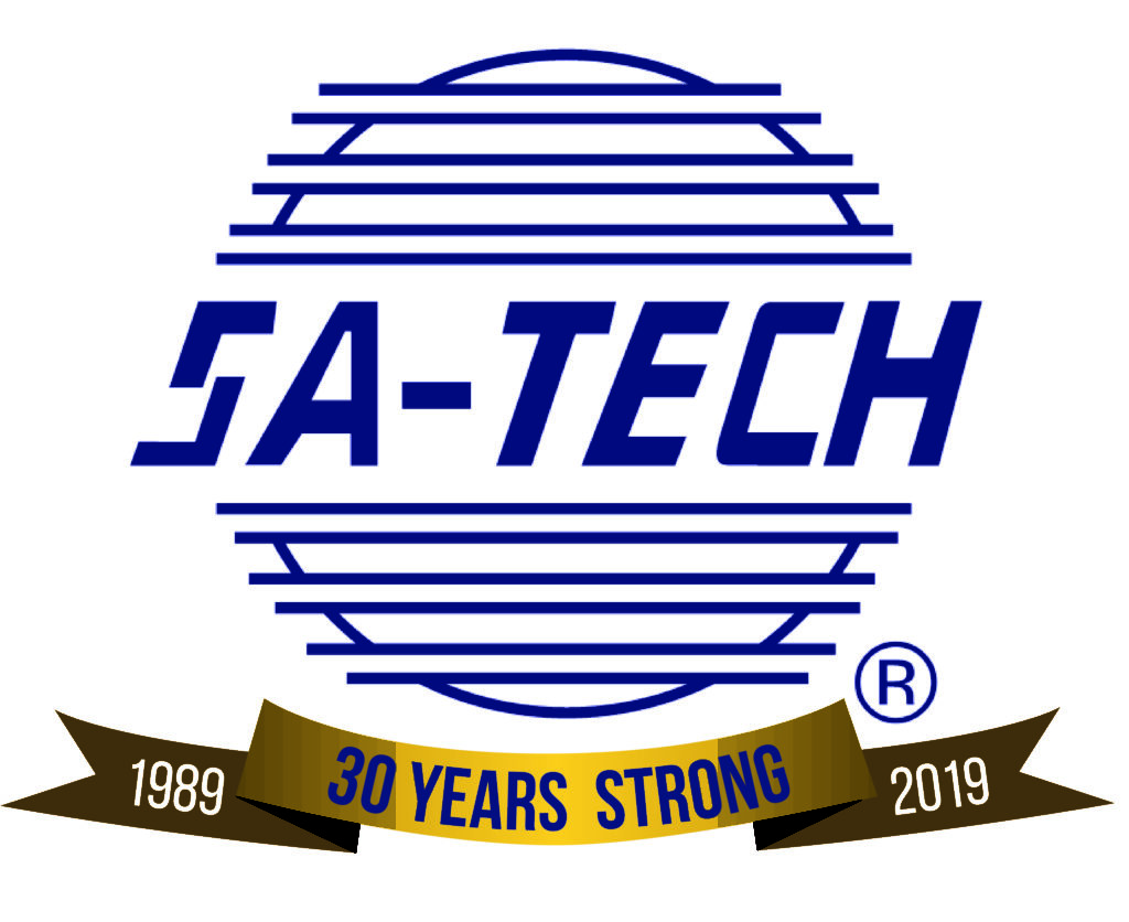 SA-TECH 30th Anniversary Logo